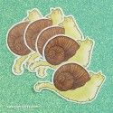 Snailcat Sticker