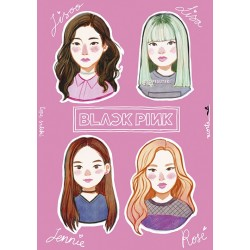 Blackpink Sticker Sheet