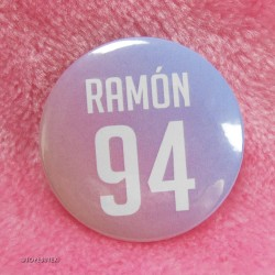 Ramón Button Badge