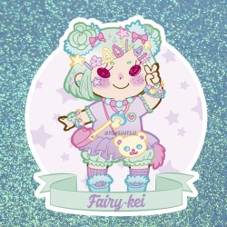 Fairy Kei Sticker