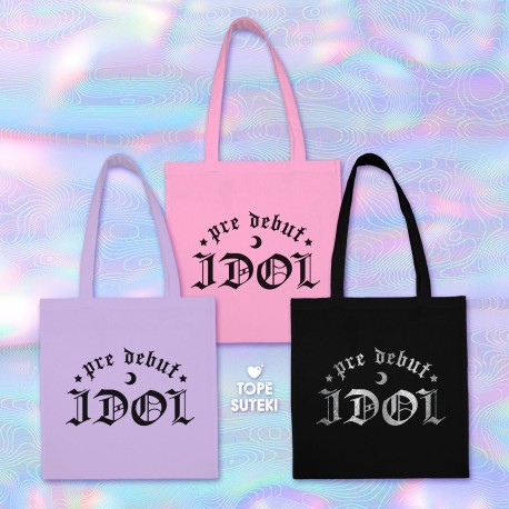 [PREORDER] Pre Debut Idol Tote Bag
