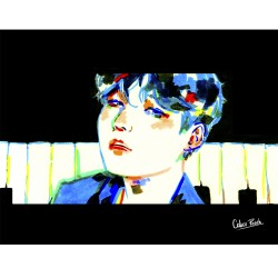 Print Suga boy with luv