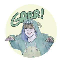 Sticker Jimin dino