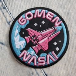 Gomen Nasai Embroidered Patch
